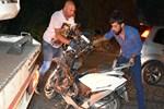 Otomobille çarpışan motosikletli öldü!