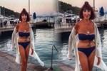 Gülriz Sururi'den bikini - şov!