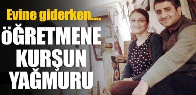 Diyarbakır'da genç öğretmene kurşun yağmuru!