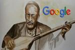 Google, Aşık Veysel'in 123. yaş gününü unutmadı