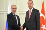 Erdoğan - Putin görüşmesi