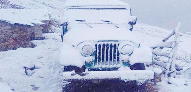 Dört kente kar sürprizi!