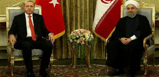 Erdoğan ve Ruhani'den flaş açıklamalar!