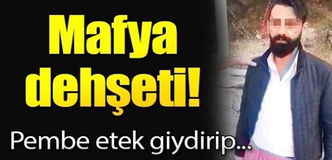 Sosyal medyada yine mafya infazı!..