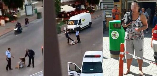 Antalya'daki kadına polis şiddeti için flaş karar!