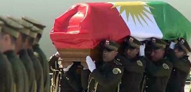 Celal Talabani'nin cenazesi böyle karşılandı