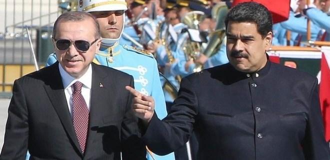 Venezuela Devlet Başkanı Ankara'ya geldi