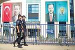 AK Parti'nin Afyonkarahisar Kampı'nda çipli önlem
