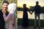 Hanife'den sarmaş dolaş aşk ilanı!