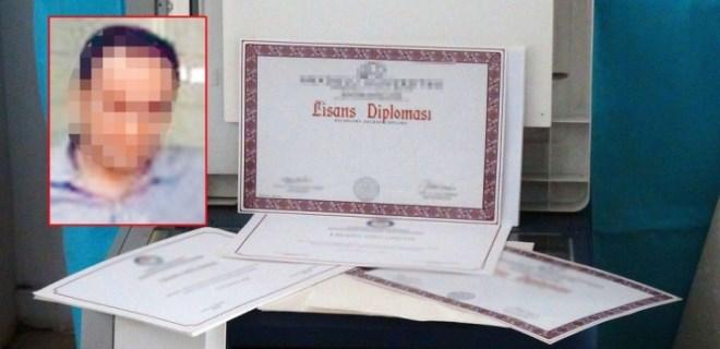 Sahte diplomayla 19 yıl öğretmenlik yaptı