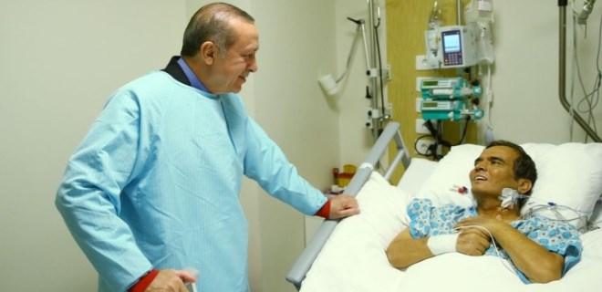 Erdoğan'dan Naim Süleymanoğlu'na ziyaret