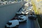 Ankara'da tam 23 araç birbirine girdi!