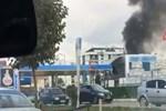 Tuzla'da akaryakıt istasyonunda yangın!..