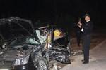 Niğde'de kan donduran trafik kazası!