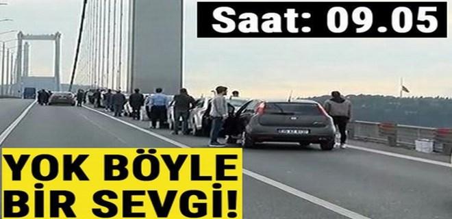 Saat 09.05... Tüm Türkiye'de hayat durdu