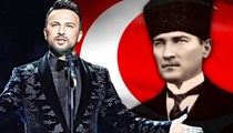 Tarkan Atatürk için söyledi