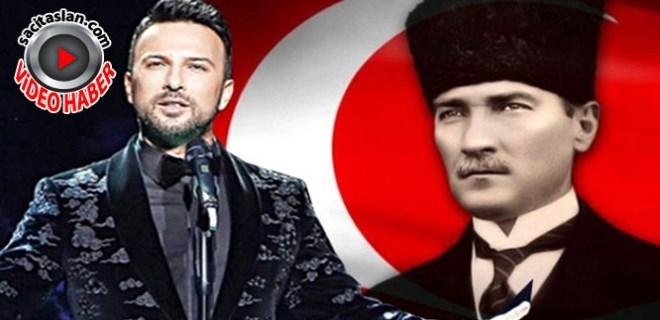 Tarkan Atatürk için söyledi, tüyler diken diken oldu!