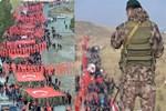20 bin asker, polis, vatandaş yürüyüşe geçti!