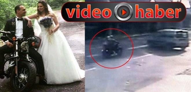 Sarıyer'de feci motosiklet kazası!