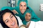 Ronaldo kız babası oldu