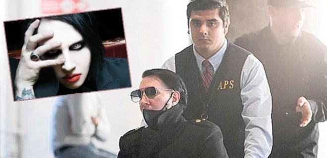 Marilyn Manson iyileşme sürecinde