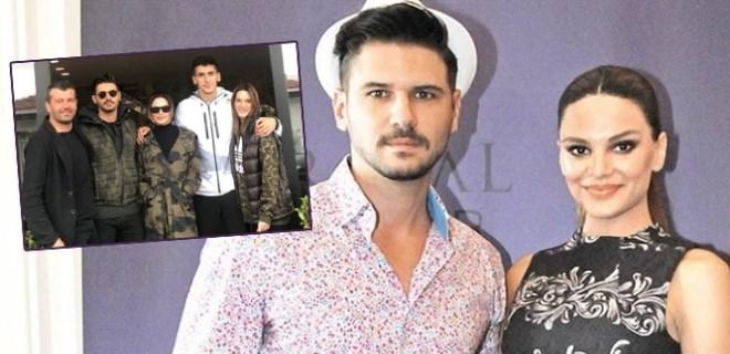 Tolgahan ve Almeda'dan Boğaz'a karşı aile saadeti