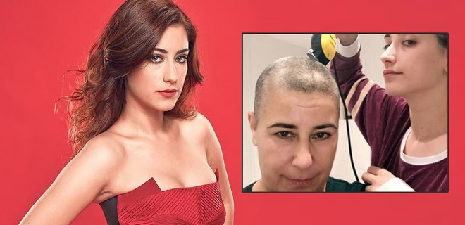 Hazal Kaya'nın annesine kanser teşhisi konuldu