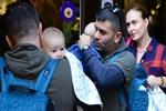 Ceyda - Bülent çifti minik bebekleriyle görüntülendi