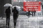 İstanbul ve İzmir dahil 8 kente yağış geliyor!