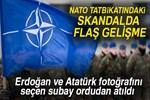 NATO tatbikatındaki hedef skandalında flaş gelişme