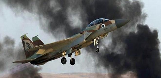 İsrail uçakları vurdu, Suriye karşılık verdi!