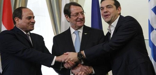 Doğu Akdeniz'de Türkiye'yi saf dışı bırakma zirvesi
