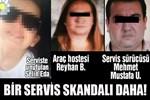 Bir servis skandalı daha!