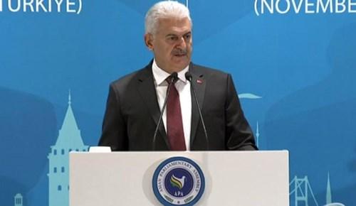 Başbakan Yıldırım'dan BM'ye sert eleştiri