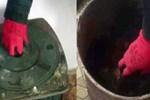 5 kişilik aile 1,5 kilo esrarı sobada yaktı!