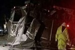 Elazığ'da askeri araç devrildi