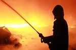 Batum'da otel yangını!