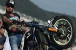 Motosiklet akrobatı kazada öldü!