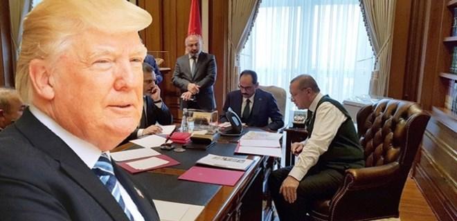 Trump, 'Hata yaptım' deyip aradı