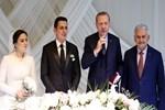 Cumhurbaşkanı ve Başbakan nikah törenine katıldı