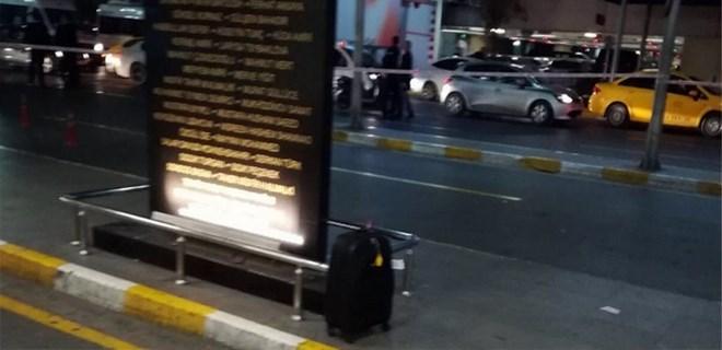 Atatürk Havalimanı'nda şüpheli valiz alarmı