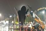 Lale heykeli kaldırıldı