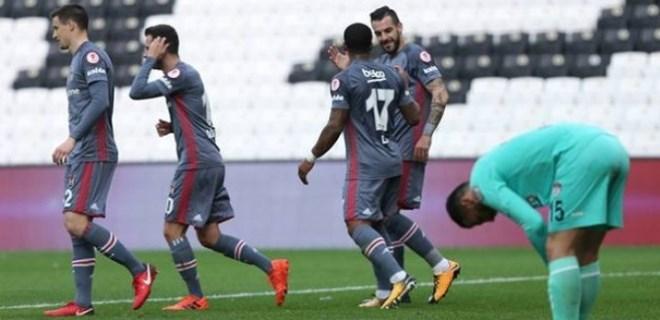 Beşiktaş'tan 9 gollü şov!