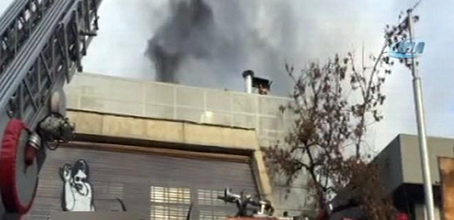 Etiler'deki ünlü et lokantasında yangın!