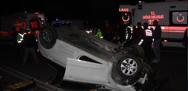 Aydın'da feci trafik kazası!