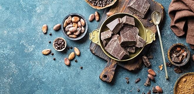 Her gün 1 parça çikolata!