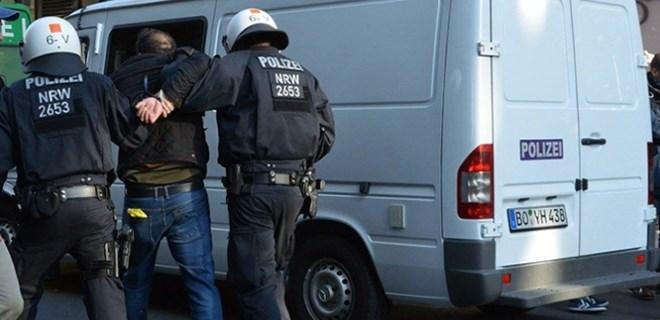 PKK'lılar, Alman polisiyle çatıştı