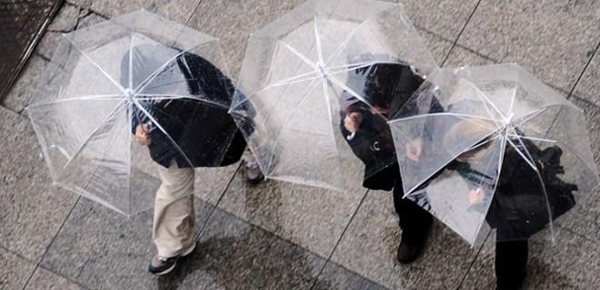 Meteoroloji'den bazı illere sağanak yağış uyarısı