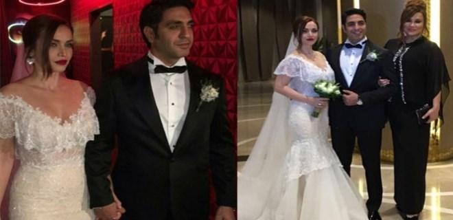 Deniz Seki erkek kardeşini evlendirdi