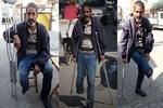 Engelli vatandaşın protez bacağını çaldılar